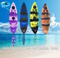 Kayak com pedais de pesca duplo caiaque 1 pessoa caiaque de boa qualidade