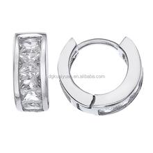 High quality AAA Cubic Zirconia huggie earring