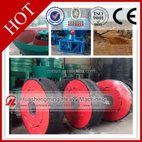 HSM CE CIQ vertical gold wet pan wheel grinding mill