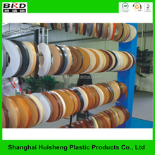 High quality pvc plastic table edge banding strip and door profile