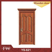Fine workmanship Customized interior solid oak/pine door YS621