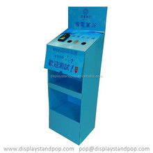 Carrugated Recyclable Display Stand For Iphone Mobile/iPhone/panel computer/MP3/MP4/MP5/ipad/e-book/Play Station Portable