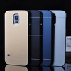 Simple Style Various Colors PC Brushed Metal Bumper Cover Case Cell Phone Case Wholesale For SAMSUNG GALAXY S5/S6/S6 EDGE