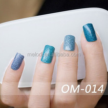 Latest Nail product&Fashion 2D Nail Art sticker with 20 tips per sheet