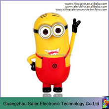 new design cute minion shape power bank 20000mah for smartphone