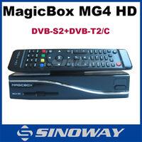 cheapest model! Magix Box MG4HD satellite tv Decoder without wifi DVB-S2+T2/C triple tuner digi sat receiver