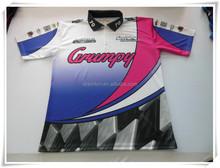 Full sublimation custom design motorcycle & auto racing wear/racing motocycle design