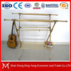 Indoor simple heavy duty aluminum alloy X-type folding electric clothes rack