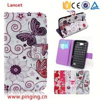 Alibaba express Wholesale Magnet Leather Case for LG Lancet,for LG Lancet Mobile phone accessory