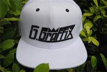 custom 3D embroidery cotton basketball hat promotional white snapback hats