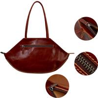 Fashion Latest Ladies Handbags Grain Leather Tote Bags