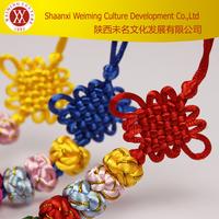 Handicraft Souvenirs Five Balls Shaped Chinese Handmade Knot