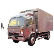 HOWO EGR Euro3 4x2 van truck/266hp