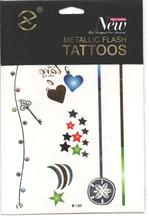 Factory Wholesale Temporary Metallic Glow in the Dark Tattoo Temporary Metallic Tattoo Glow Tattoos