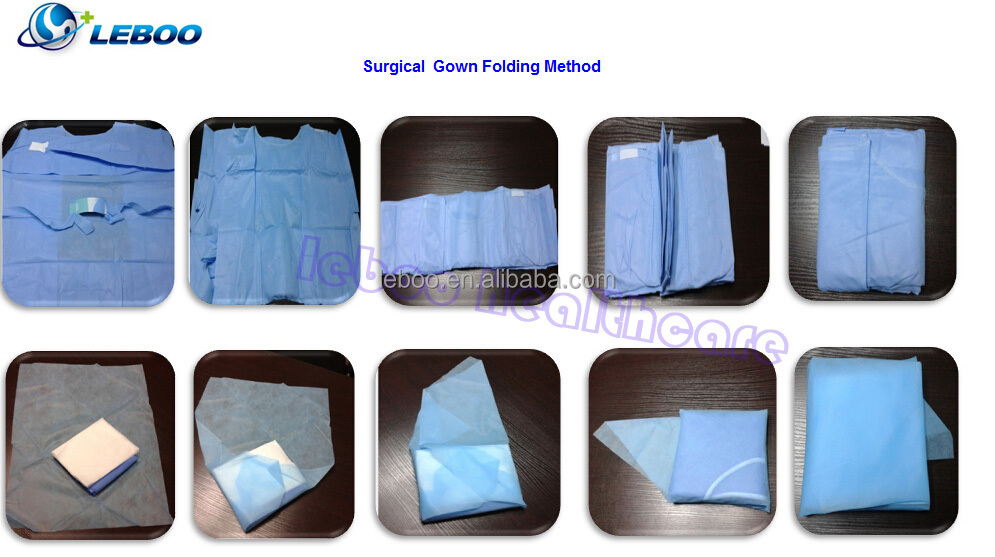 Disposable Sterilized Surgical Gown/hospital Gowns - Buy Hospital ...