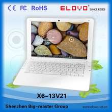 triangular shell roll top 13.3inch laptop dual core 3g and bluetooth supported ethernet switch OEM factory cheap quality laptop