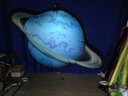 2015 new design custom hanging full printing inflatable planet