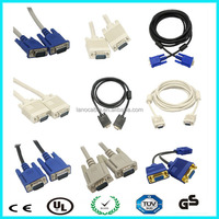 OEM computer blue mold hdtv 15 pin vga cable 5ft details