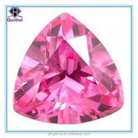 Pink Triangle shaped Semi Precious Stone