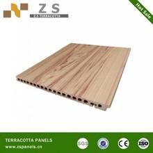 Terracotta panels clay tiles clay bricks curtain ventilated wall FireProof Wall Slate Marble Design Porcelain Tile