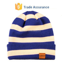 Custom Patch Winter Beanies Hat Leather Patch Beanies Beanies Hat