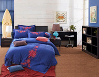 Classic tencel embroidery 4pcs bed linen home use