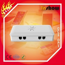Universal security alarm 4 port main control unit for mobile phone tablet laptop