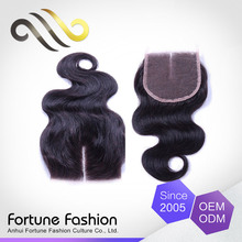 Elegant Top Quality Direct Factory Price Real Human Hair Weave African Hair Pieces With Closure Wavy Piece