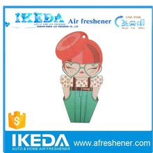 Manufacture directly produce any logo wholesale paper air freshener