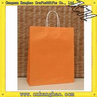 Brown kraft paper cement bag