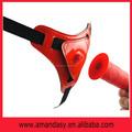 Jp015 de alta calidad del sexo juguete nuevo producto de una correa- en consolador con bomba