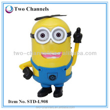 2015 hot selling product made in China Despicable Me Minions fm radio mini digital speaker (w) STD-LF908
