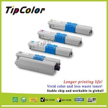 Vivid Color Compatible Oki 44469740 Yellow Toner Cartridge With Generic Quality