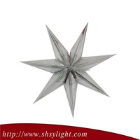 Chinese Paper crafts paper star hanging decoration
