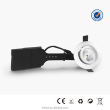 CE ROHS TUV Certificated 4.5w White LED Downlights with Rotatable Heads