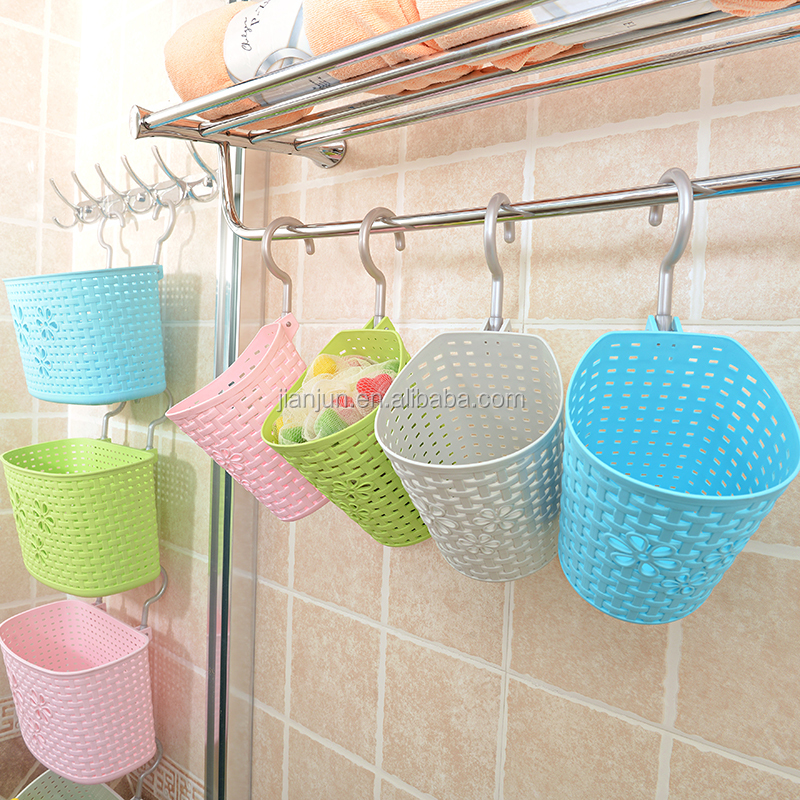 Bathroom Shelf Baskets