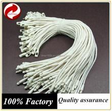 PS plastic seal hang tag string cord 220mm,elastic cord hang tag,plastic cord locks