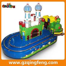 Qingfeng children mini round train rides game machine