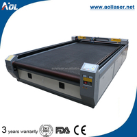 China blankets laser cutter