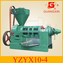 Sichuan China famous brand cold press oil expeller 3.5tons a day YZYX10-4