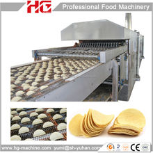 HG fully automatic production line potato chip maker