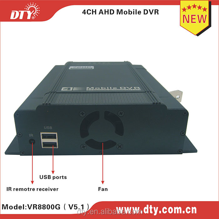 factory direct 4ch vehicle hdd sd card mobile dvr at high. Black Bedroom Furniture Sets. Home Design Ideas