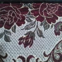 2015 wholesale chenille jacquard heavy sofa fabric from China