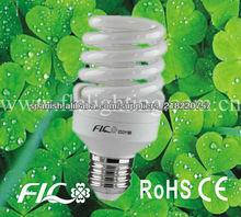 5W espiral completo de luz de ahorro de energía