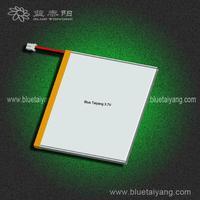 608375 3900mAh li polymer battery , 4.2v rechargeable battery