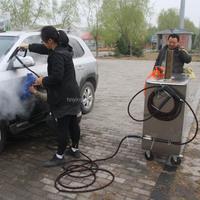 2015 new CE 30 bar diesel mobile vapor steam car wash equipment/vapor mud cleaner
