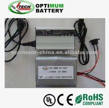 Li-ion battery LiFePO4 12V 30Ah for UPS or Road Light