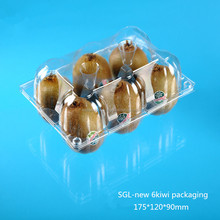 Fruit Shaped Disposable Plastic Fruit Box with dividers