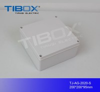 Wall mounted plastic enclosure ,electrical junction box