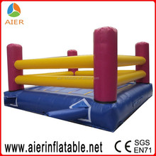 Kids playing wrestling rings, inflatable wrestling ring for kids, inflatable wrestling ring